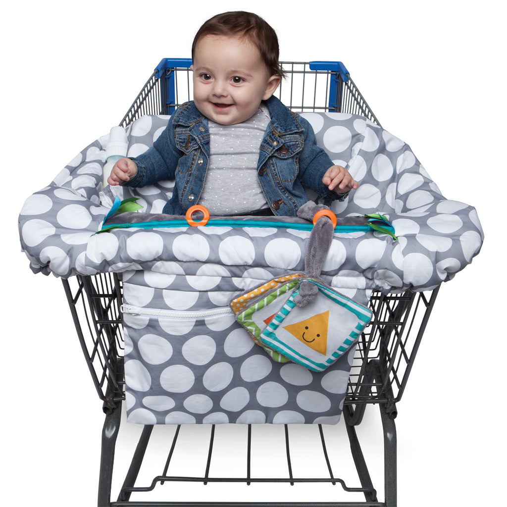 Boppy<sup>®</sup> Preferred Shopping Cart and Restaurant High Chair Cover - 3PK