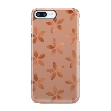 Peach And Pink Make Up Shine Shimmer iPhone X Case - urbanlashed