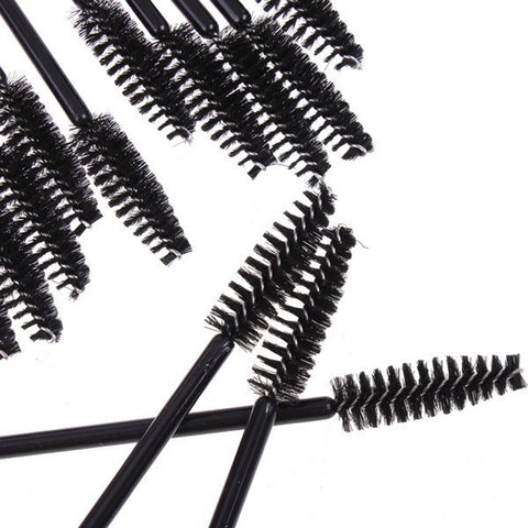 50pcs Variety Curvature Convenient Disposable Eyelash Brushes - urbanlashed