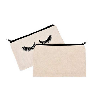 Eyelash Print Makeup Bag - urbanlashed