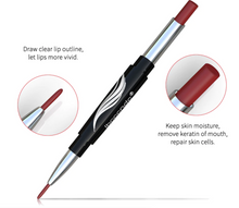 Load image into Gallery viewer, Waterproof Matte Dual Lipstick & Liner Pen