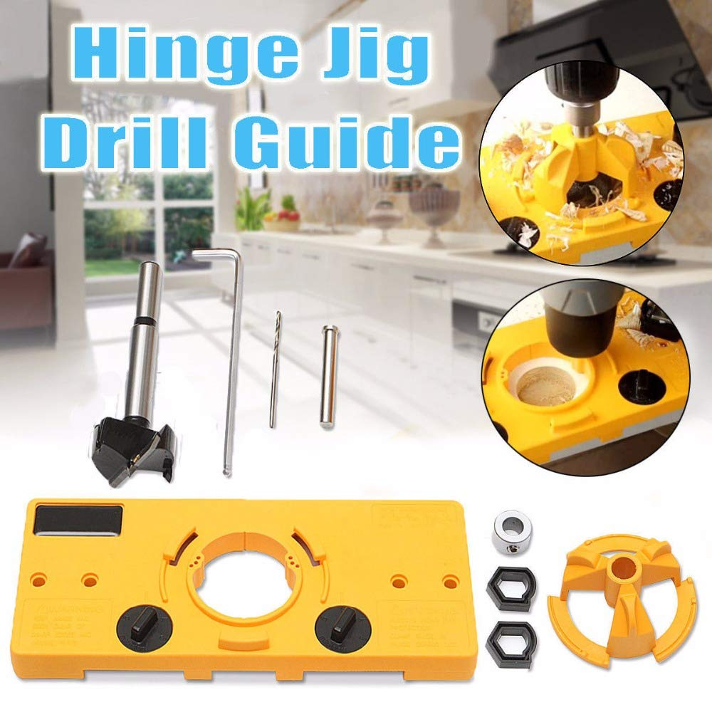 THE ULTIMATE DOOR HINGE DRILL JIG