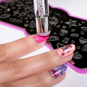 New 2019 Silicone Nail Art Stampers