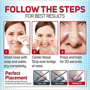 FREE BREATH EXTRA CLEAR NASAL STRIPS