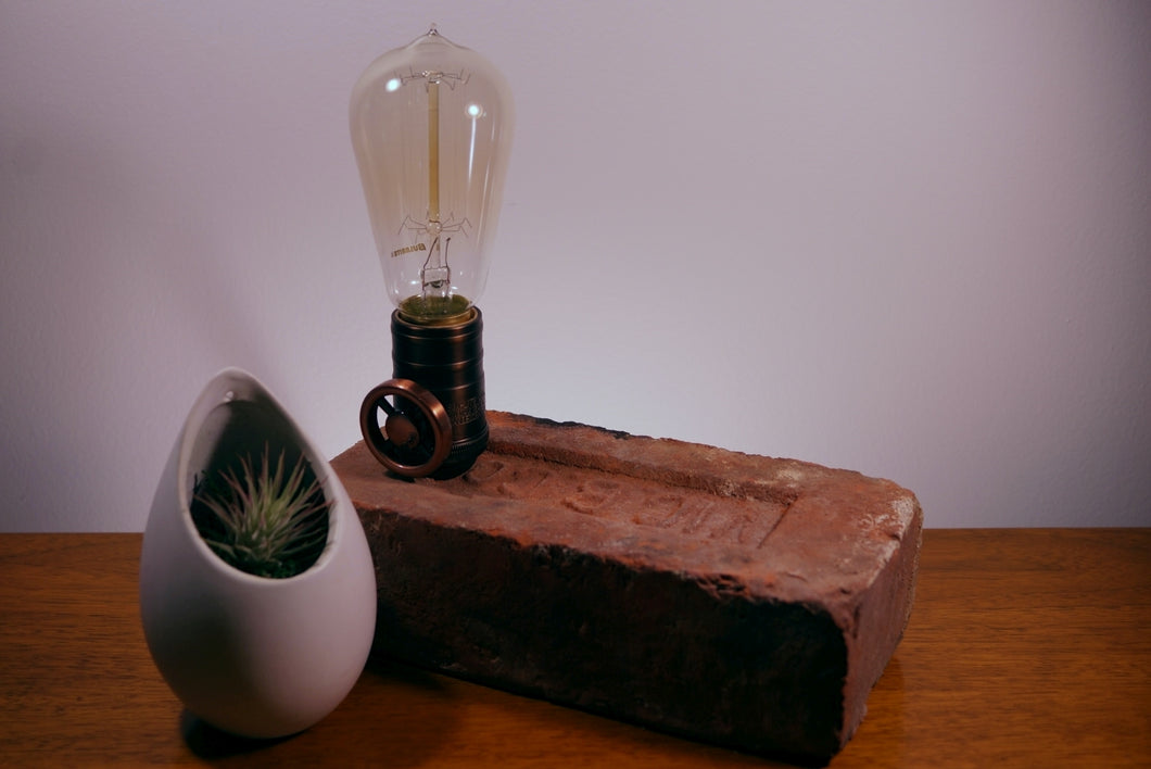Heritage Brick Dimmable Table Lamp