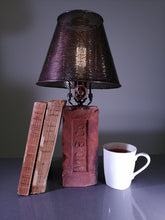Load image into Gallery viewer, Coppered Shade Dimmable Table Lamp