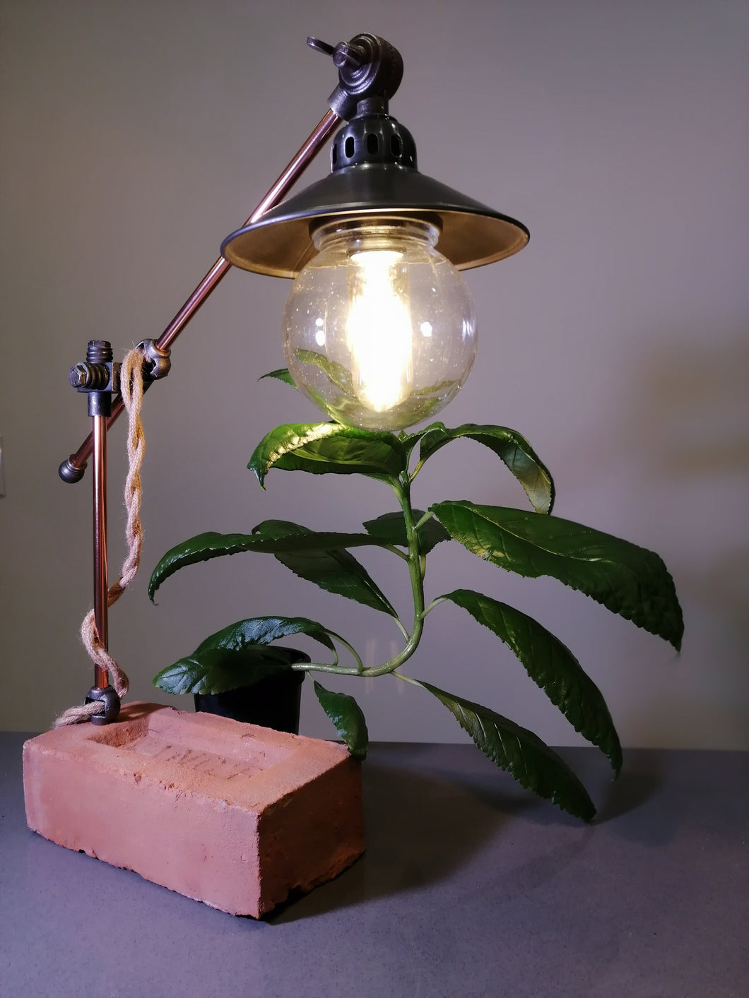 Electric Alleyway Table Lamp