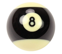 Aramith Pro Cup 2inch Black Ball