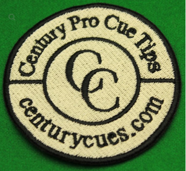 Century Pro Embroidered Logo Patch