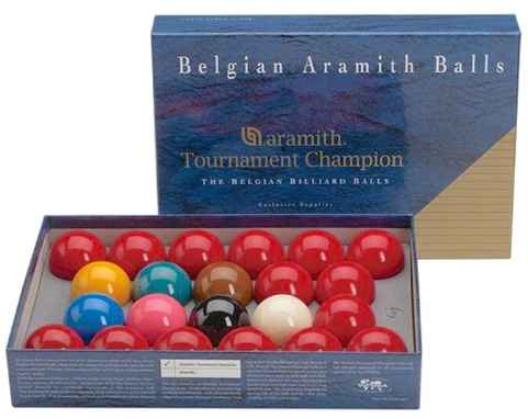 "Aramith Tournament Champion Snooker 2 1/16"" Ball Set"