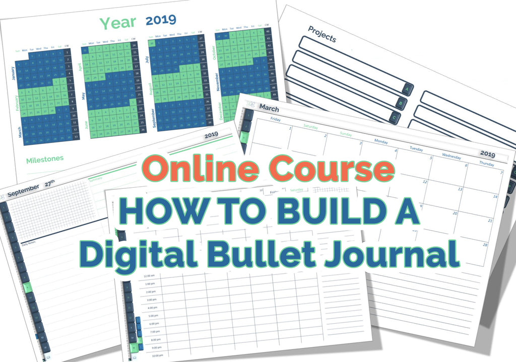"[Online Course] - ""How to build a Digital Journal Like a Pro"""