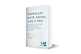 eBook - Paperless Note-Taking Like a Pro