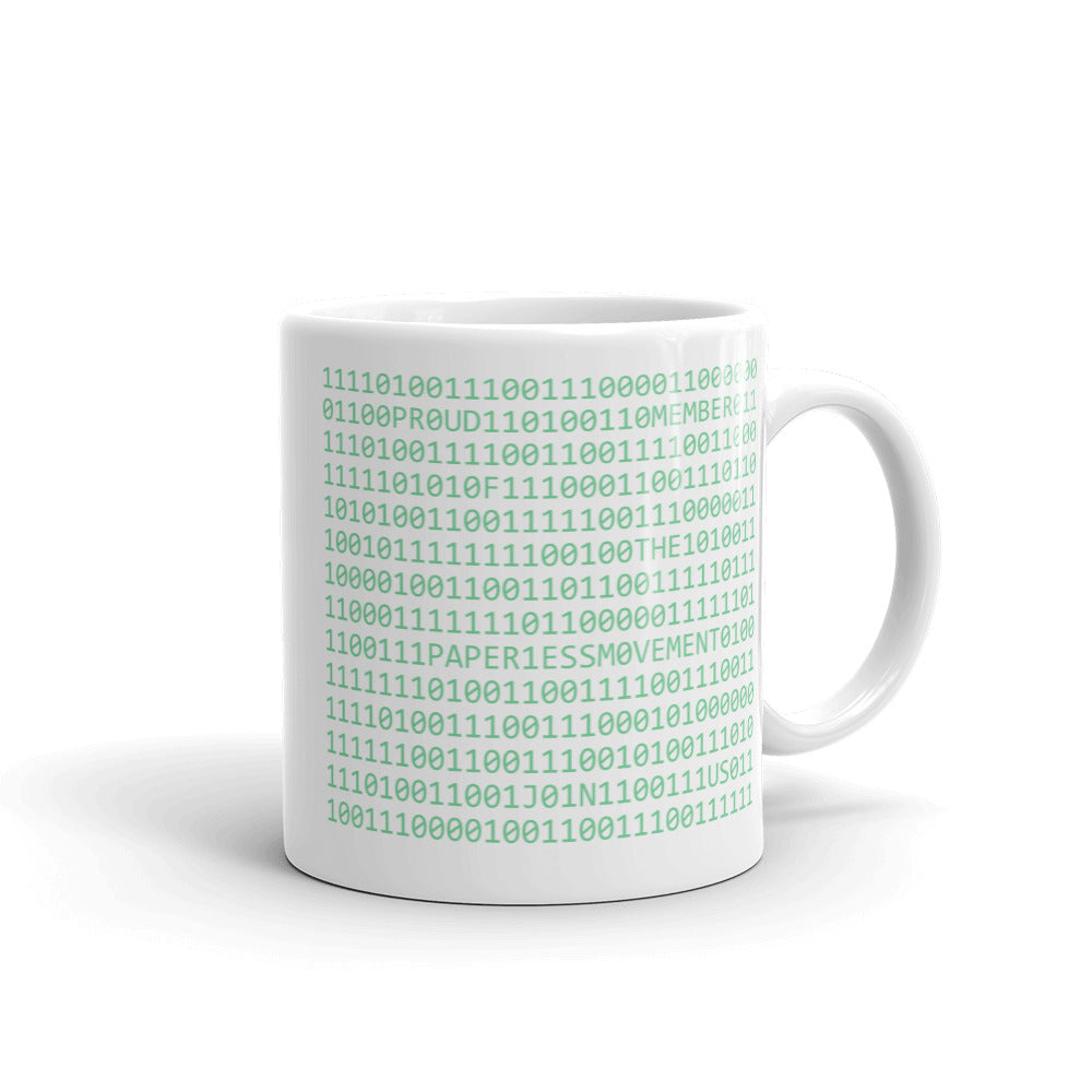 "Mug - ""Secret Code and Logo"""