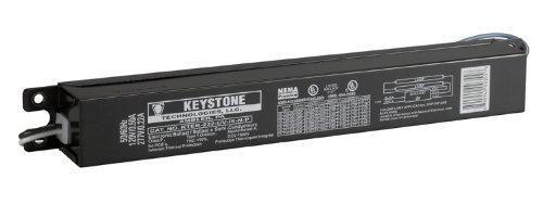Keystone KTEB-232-UV-IS-N-P - (2) Lamp Fluorescent Ballast
