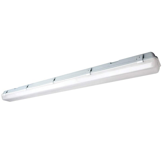 NUVO Lighting 62/1061 LED Vapor Tight Linear Fixture - 29 Watt - 4000 Kelvin - White / Gray Finish