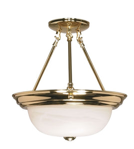 NUVO Lighting 60/217 Fixtures Ceiling Mounted-Semi Flush
