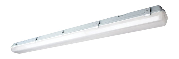 NUVO Lighting 62/1066 LED Vapor Tight Linear Fixture - 29 Watt - 5000 Kelvin - White / Gray Finish