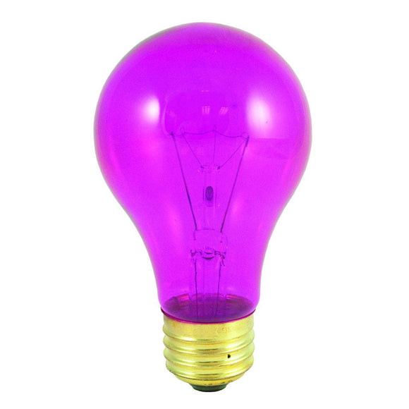 Bulbrite 105625 Incandescent A19