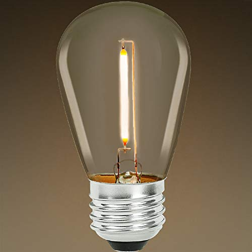 Bulbrite 776684 0.7 Watt S14 LED White Filament