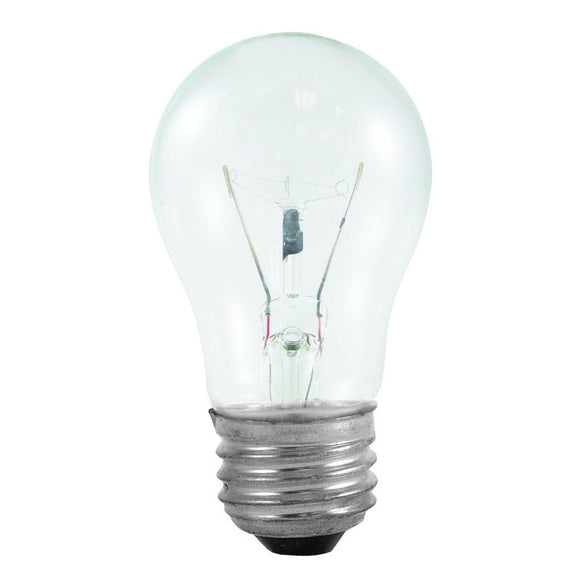 Bulbrite 104140 40 Watt A15 Incandescent White Appliance