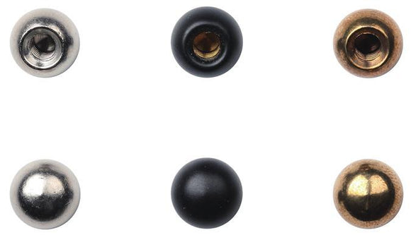 Westinghouse 7066300 6 Cap Nuts Brass, Oil Rubbed Bronze and Chrome Finishes