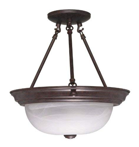 NUVO Lighting 60/209 Fixtures Ceiling Mounted-Semi Flush
