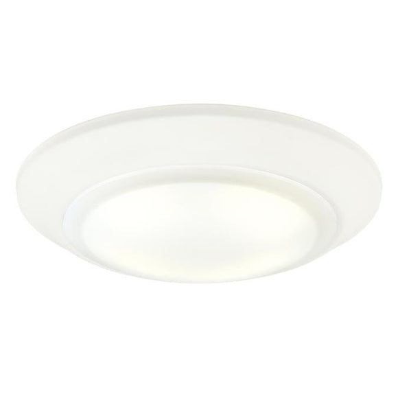 Westinghouse 6322900 Large LED Surface Mount White Finish with Frosted Lens - Dimmable