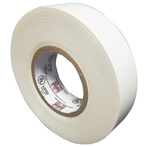 Morris Products 60112 7Milx3/4 inch x 66 ft Prof Tape White