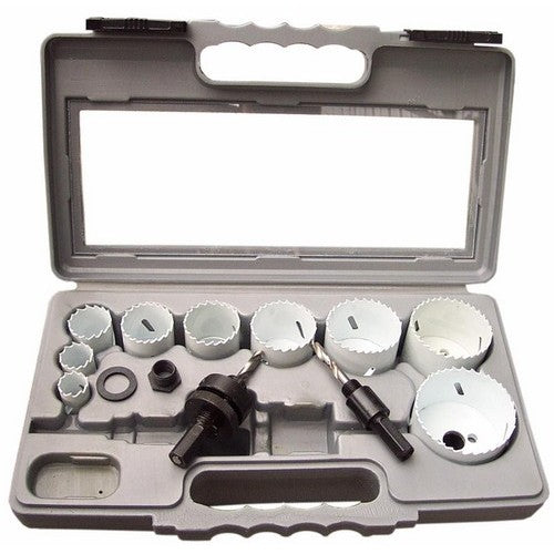 Morris Products 13422 12 Pc Hole Saw Set