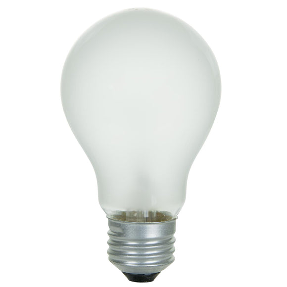 Incandescent - A19 Household - 100 Watt - 1100 Lumens  - 220 Volt - Warm White - 2700 Kelvin