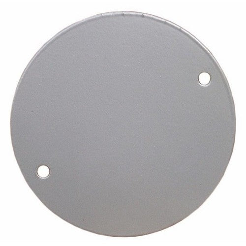 Morris Products 36850 4 inch Rnd Cover Blank Gray