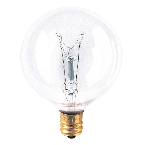 Bulbrite 381140 Incandescent G16 1/2 Globe