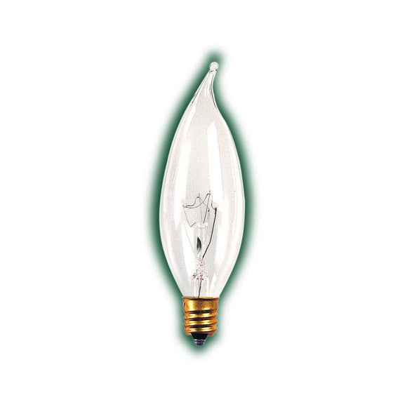 Bulbrite 493125 25 Watt CA8 Incandescent White Flame