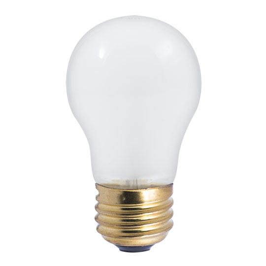 Bulbrite 110025 25 Watt A19 Incandescent White