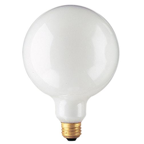 Bulbrite 350100 100 Watt G40 Incandescent White Globe