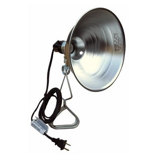 Morris Products 89522 Clamp Lamp With Reflector