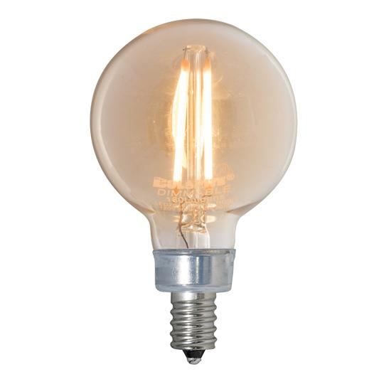 Bulbrite 776606 LED G16 Globe