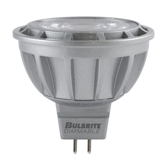 Bulbrite 771351 9 Watt MR16 LED White Flood Dimmable