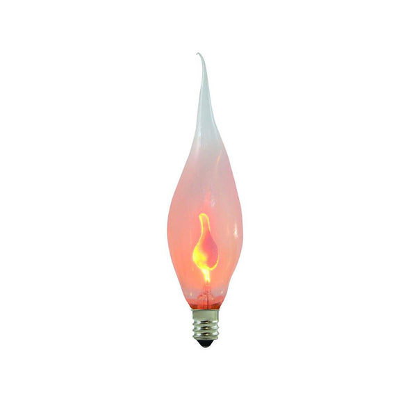 Bulbrite 411003 3 Watt CA5 Incandescent White Flicker Silicone