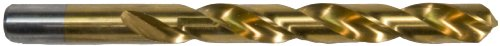 Morris Products 13536 1/4 inch X 4 inch Titanium Coated High Speed Steel Drill Bit