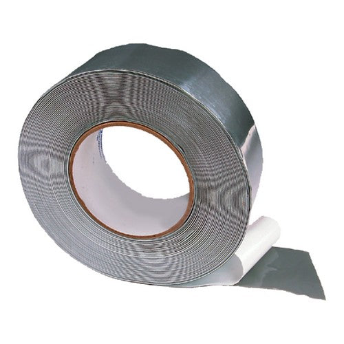 Morris Products T50302 Tape, Stick-E, Silver (2x50ft)