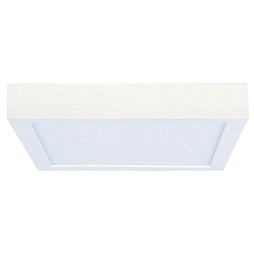 Bulbrite 773136 10 Watt DWNLGT Fixtures White Flush Mount Square