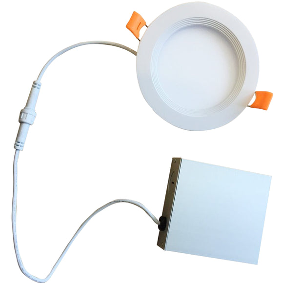 Bulbrite 773211 - 9 Watt 4 Inch Round Recessed LED Downlight - 65 Watt Incandescent Equivalent