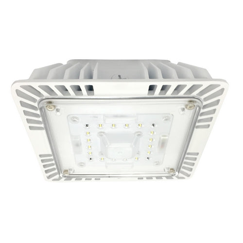 Morris Products 71624 LED Recessed UltraThin Canopy Light 60W 5000K WH
