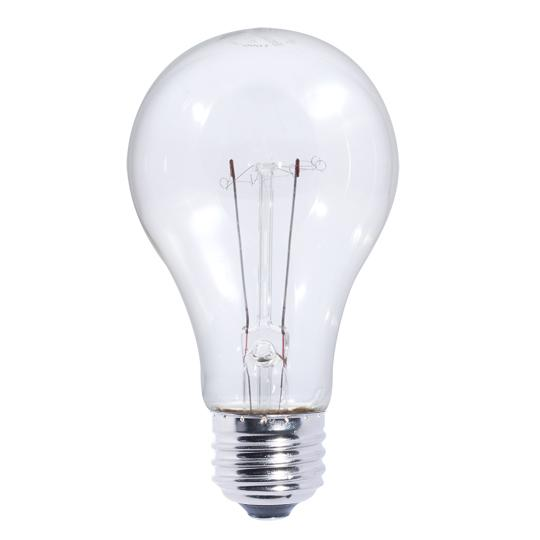 Bulbrite 101025 5 Watt A19 Incandescent White