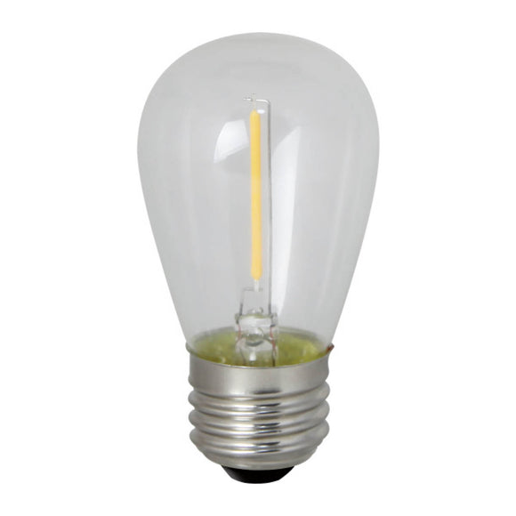 Bulbrite 776685 0.7 Watt S14 LED White Filament