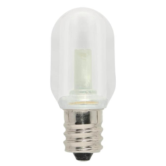 Westinghouse 4511700 S6 LED Specialty Light Bulb - 0.6 Watt - Clear - 2700 Kelvin - E12 Base