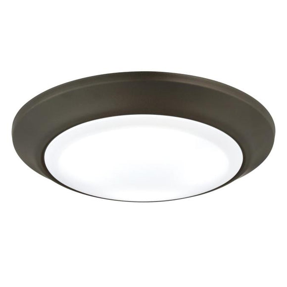 Westinghouse 6323200 Large LED Surface Mount Oil Rubbed Bronze Finish with Frosted Lens - Dimmable
