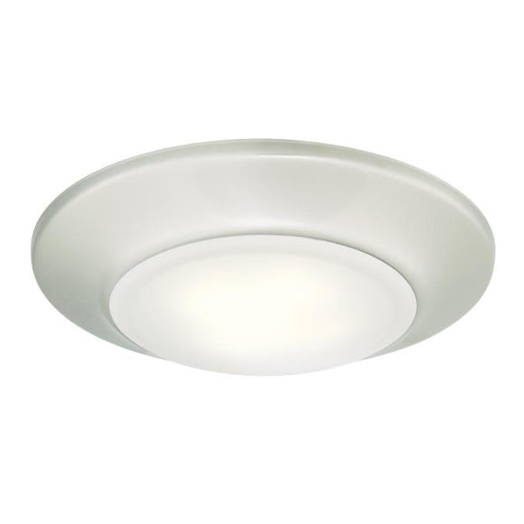 Westinghouse 6321900 Small LED Surface Mount Brushed Nickel Finish with Frosted Lens - Dimmable