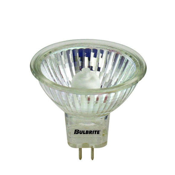 Bulbrite 646350 50 Watt Mr16 Halogen White Lensed Flood